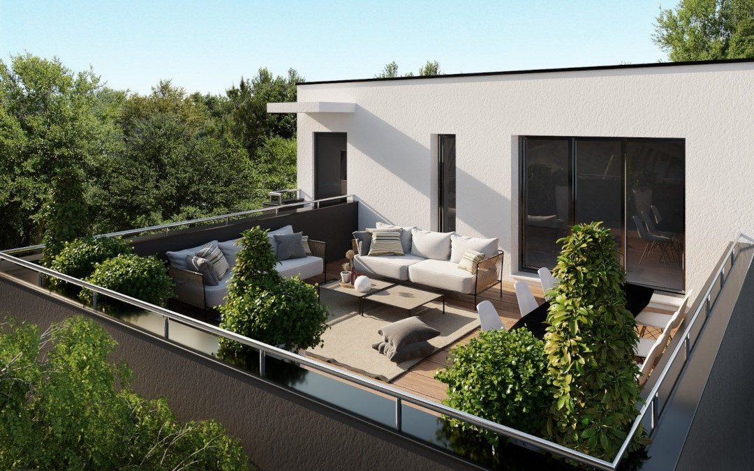 appartement le duo terrasse